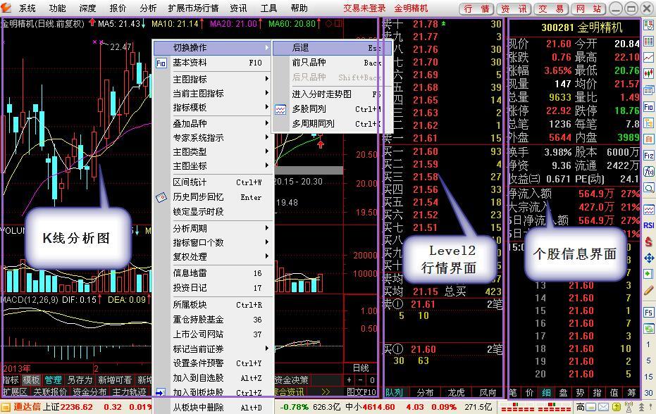 通达信金融终端 7.47 官方版-第11张图片-cc下载站