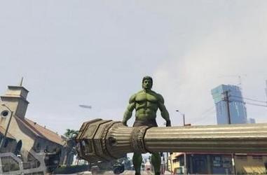 GTA5绿巨人浩克MOD-第3张图片-cc下载站