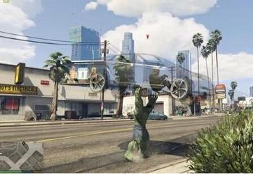 GTA5绿巨人浩克MOD-第4张图片-cc下载站