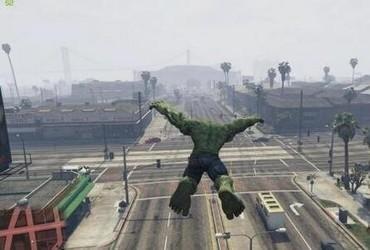 GTA5绿巨人浩克MOD-第2张图片-cc下载站