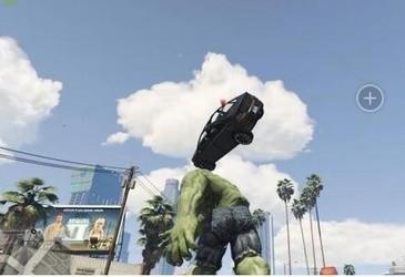 GTA5绿巨人浩克MOD-第5张图片-cc下载站