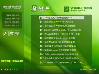 大白菜超级U盘启动制作工具 6.0-第4张图片-cc下载站
