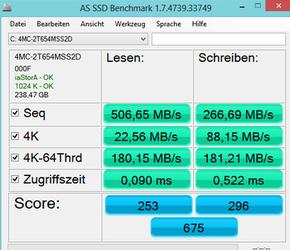 AS SSD Benchmark(固态硬盘测速工具) 2.0.6821-第2张图片-cc下载站