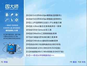 u大师u盘启动盘制作工具专业版 4.5.0-第3张图片-cc下载站
