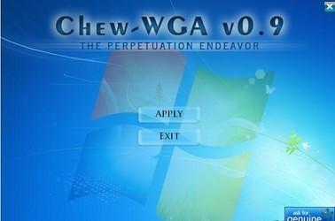 Chew Wga(win7激活工具) 0.9-第2张图片-cc下载站