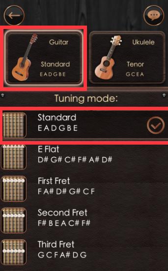 Guitar Tuner 吉他调音器 2.4.1-第4张图片-cc下载站