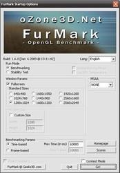 FurMark(显卡测试工具)中文版 1.20.8-第5张图片-cc下载站