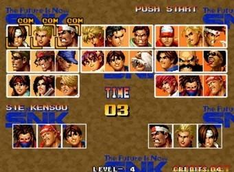 拳皇95 中文版-第5张图片-cc下载站