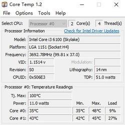 Core Temp 1.15.1-第2张图片-cc下载站